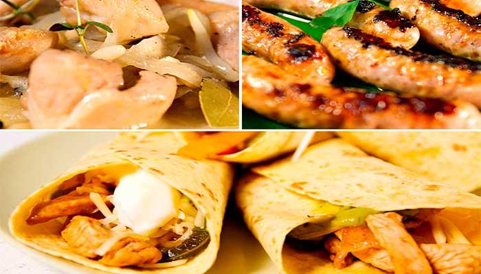 3 recetas básicas de Pollo