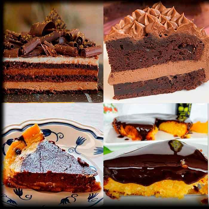 4 Tartas de Chocolate que puedes hacer