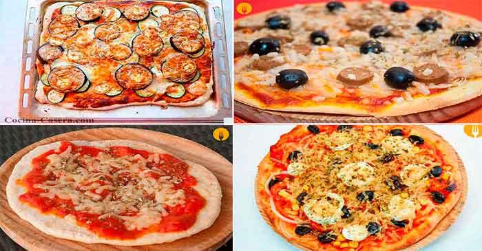 4 Pizzas para hacer y disfrutar