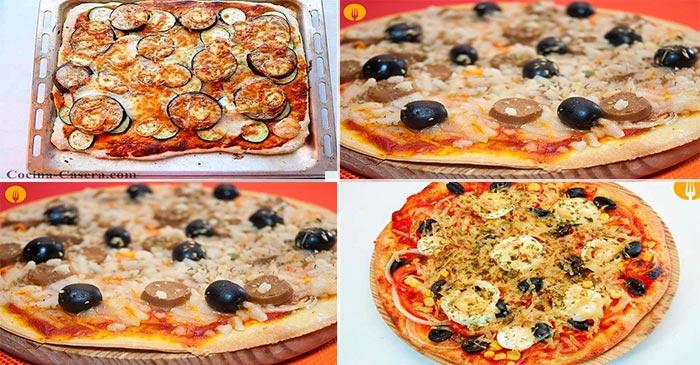 4 Pizzas para hacer y disfrutar en casa