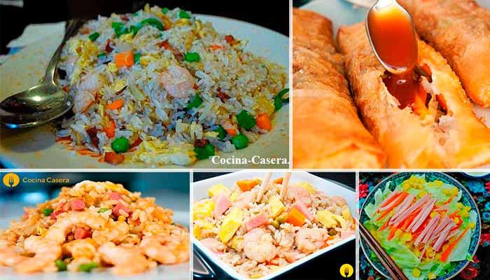 5 platos de Comida China para hacer tu mismo