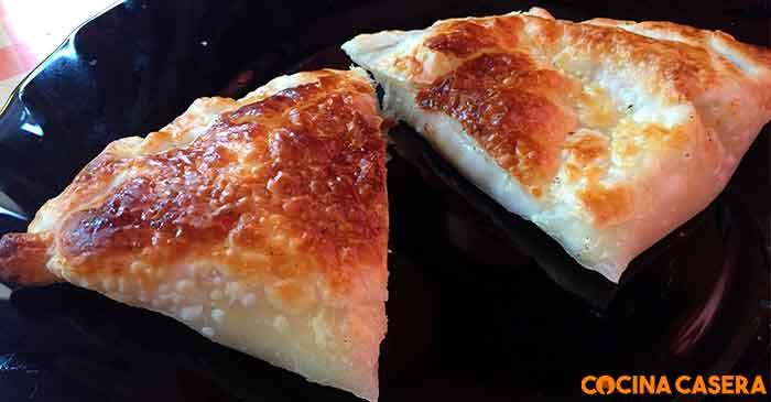 Empanadillas de Mozzarella y cebolla