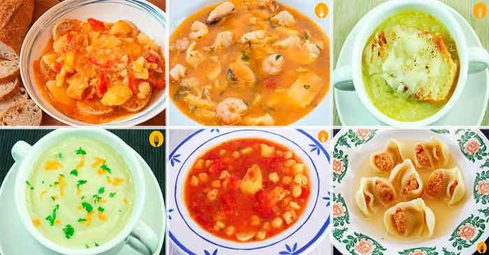 6 Sopas para el Otoño que viene