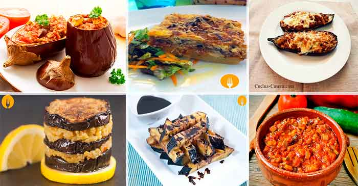 6 platos con Berenjena que te encantarán