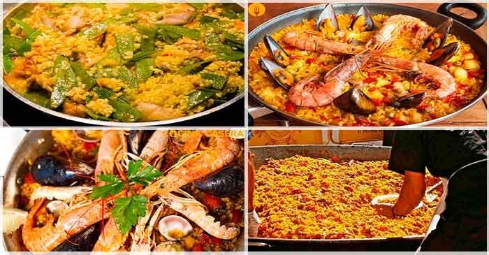 4 Recetas de Paella irresistibles. Recetas fáciles