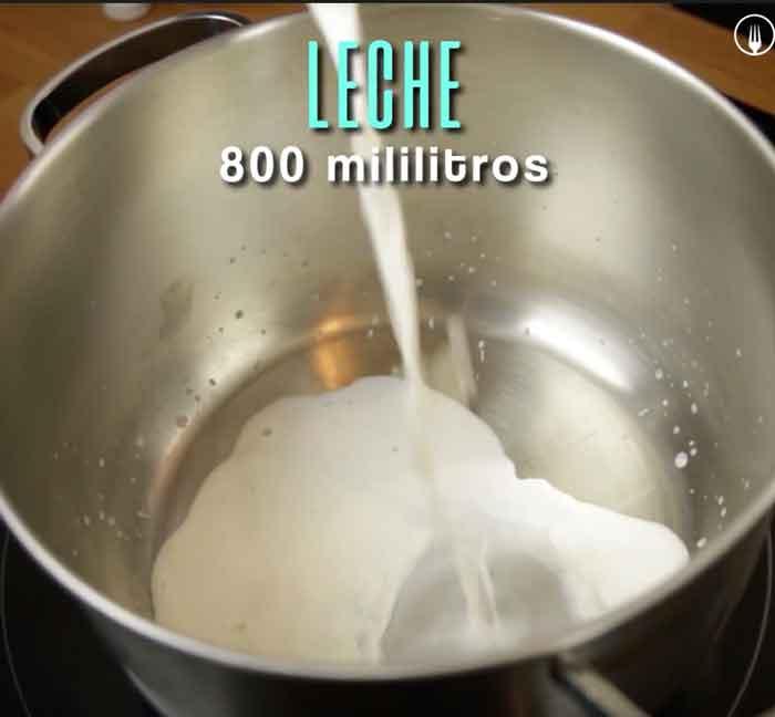 como hacer dulce de leche blanco