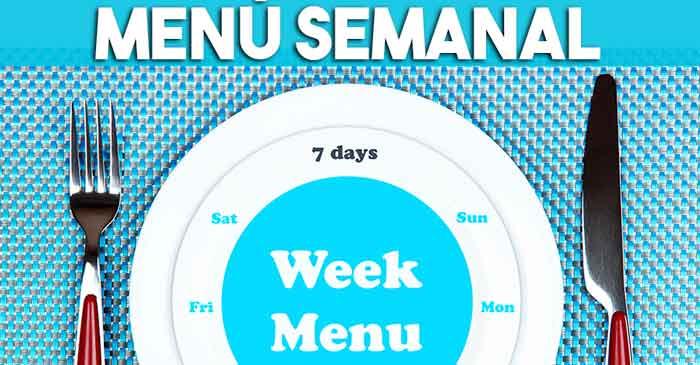 Menú semanal