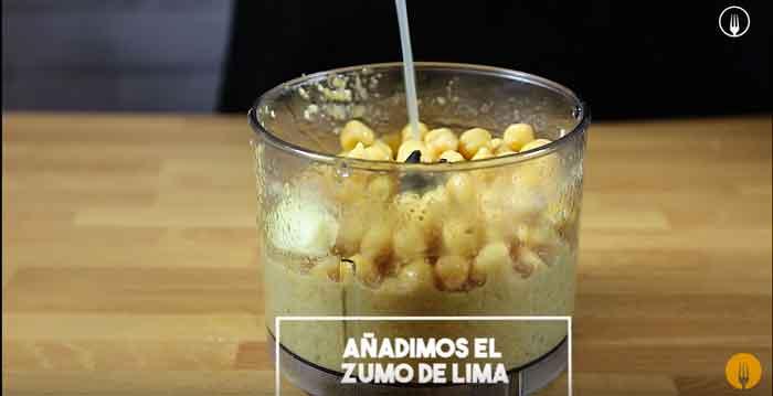 Hummus. Receta de Garbanzos
