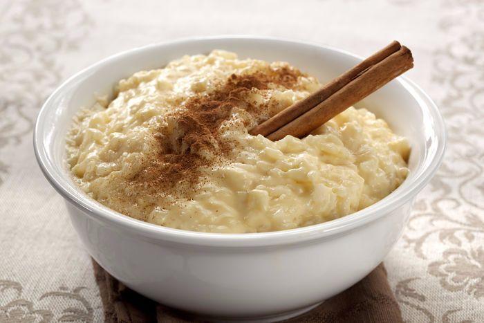 arroz con leche - canela