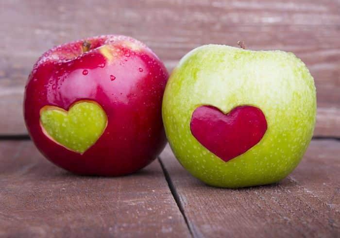 diferencias manzanas