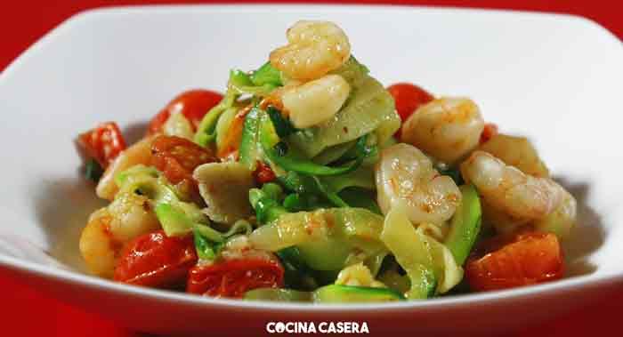 Espaguetis Verdes de Calabacín