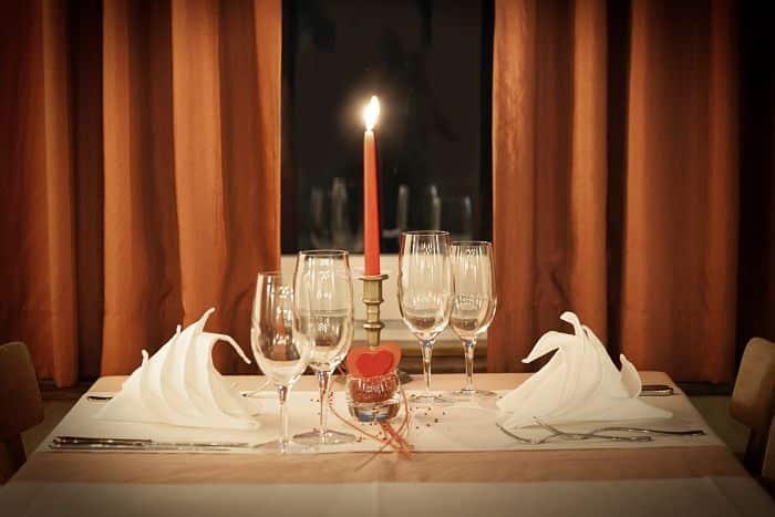 Menú para cena romántica
