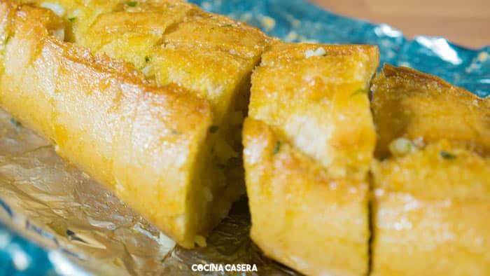 Pan de Ajo. Receta fácil