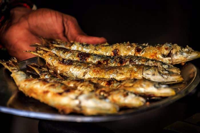 sardinas-asadas