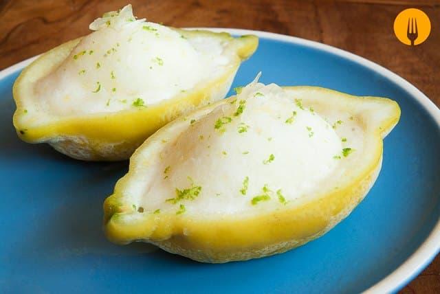 sorbetes de limón -Cómo hacer helado casero