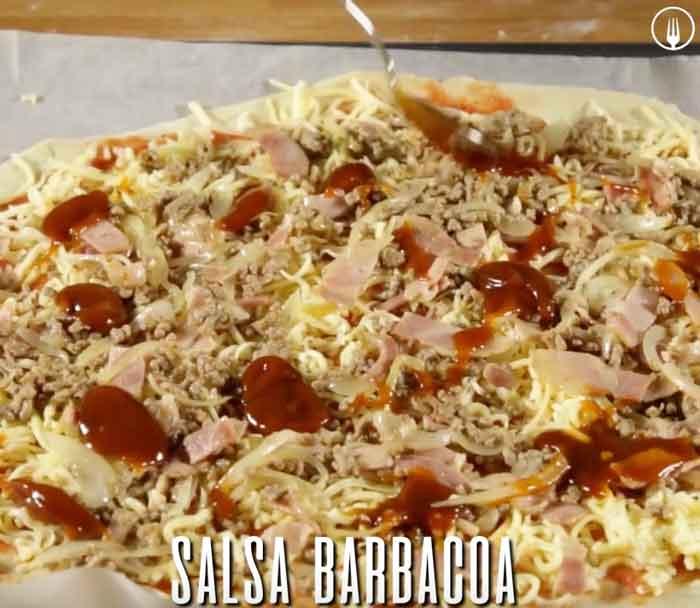 Pizza Barbacoa o BBQ