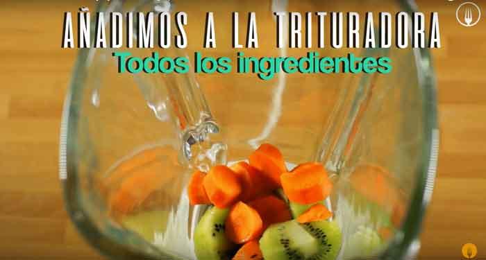 Smoothie de Naranja y Kiwi Antigripal