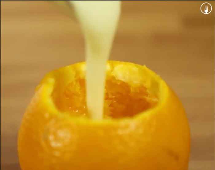Mousse de Naranja