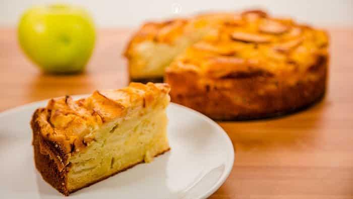 Tarta de manzana recetas de cocina casera f ciles y - Pure de castanas y manzana ...
