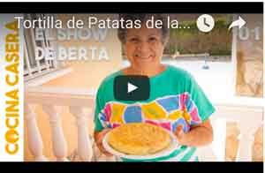 tortilla patatas abuela berta