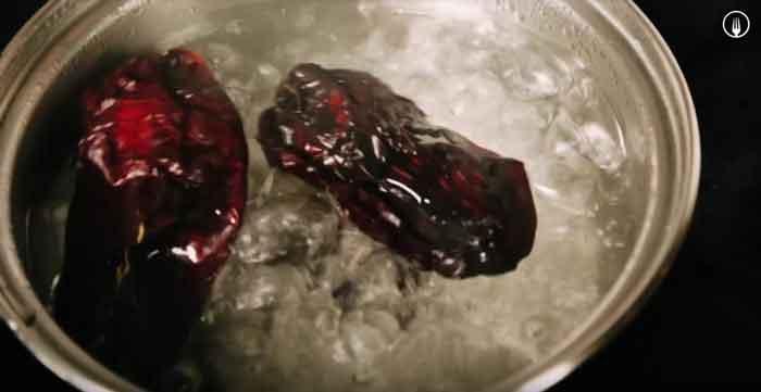 Albóndigas de bacalao a la vizcaína