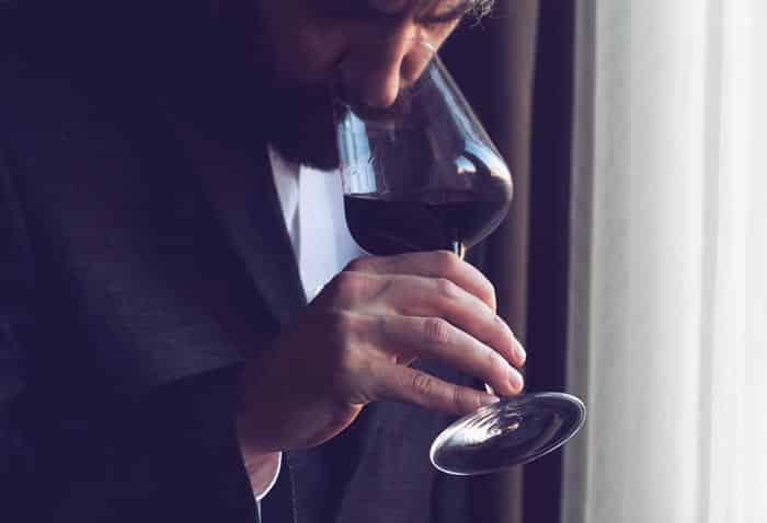 El sabor del vino