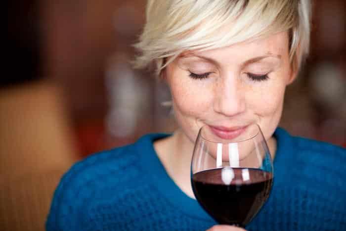 El olor del vino
