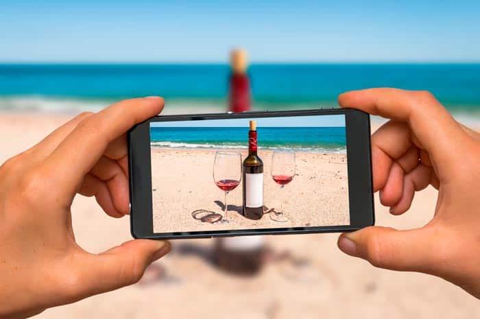 sabores Captados vino