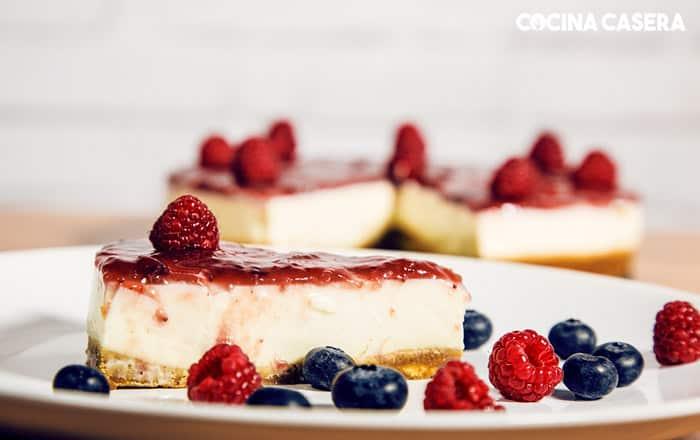 tarta de queso sin horno