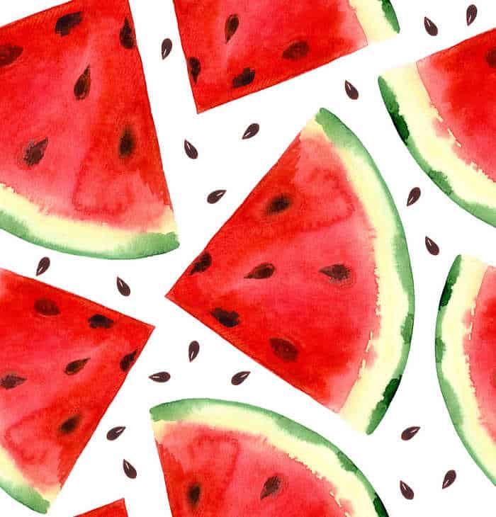 Frutas de Temporada de Julio. España