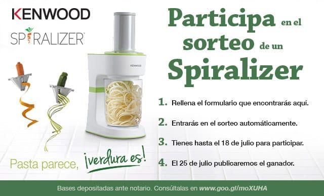 Participa en el Sorteo de un Spiralizer