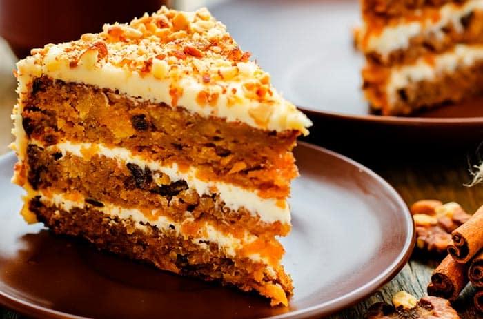 Carrot Cake o Pastel Zanahoria. Receta fácil