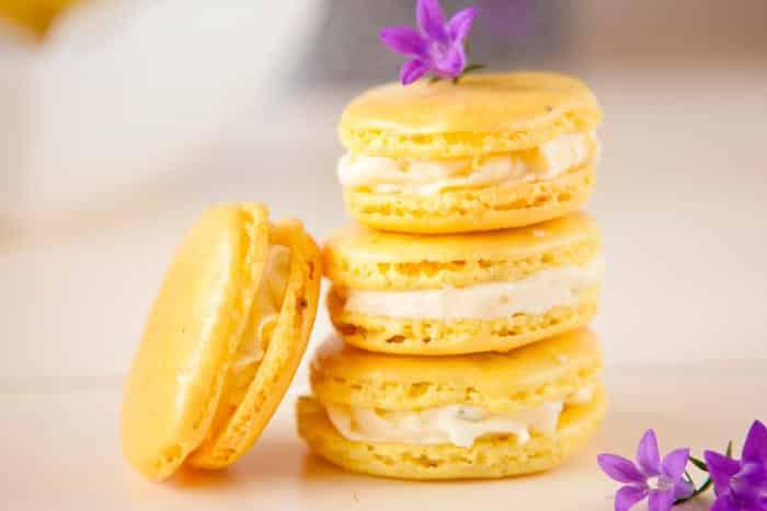 Galletas de Limón rellenas de crema