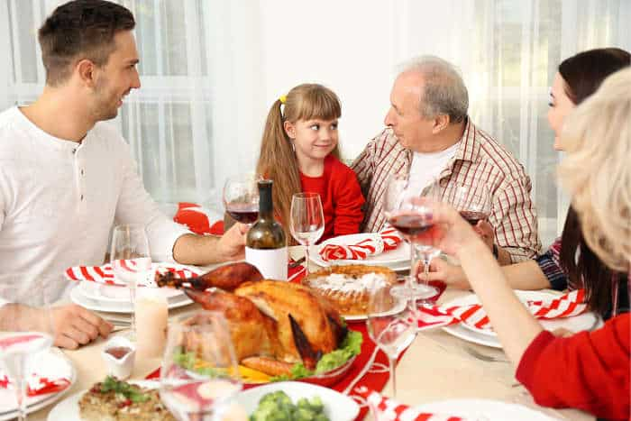Cena Acción de Gracias