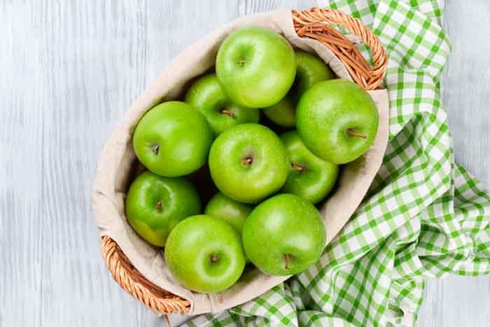 Dieta de la manzana verde