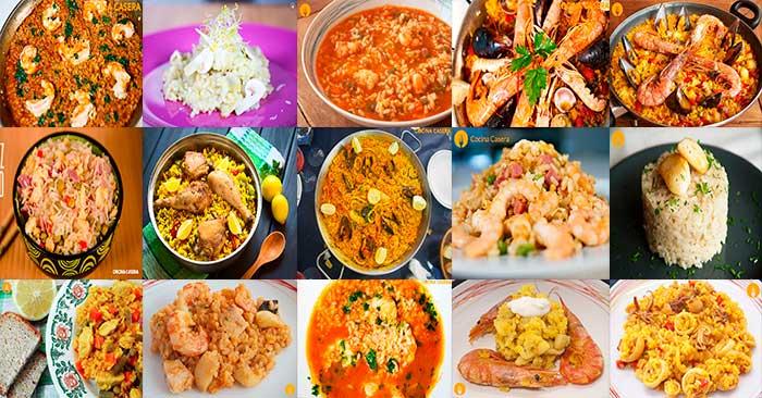 Recetas de arroz arroces f ciles con v deo for Comidas caseras faciles