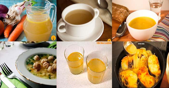 recetas de caldos