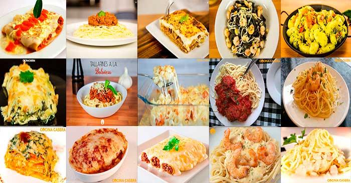 Recetas de pasta f ciles cocina casera com for Resetas para comidas