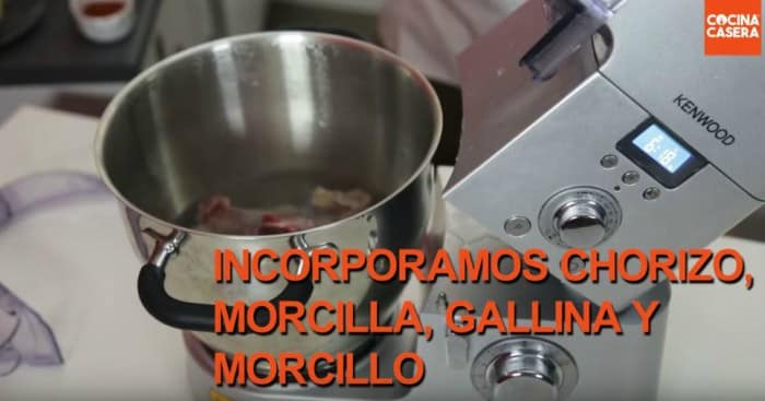 Receta de cocido con la Kenwood Cooking Chef