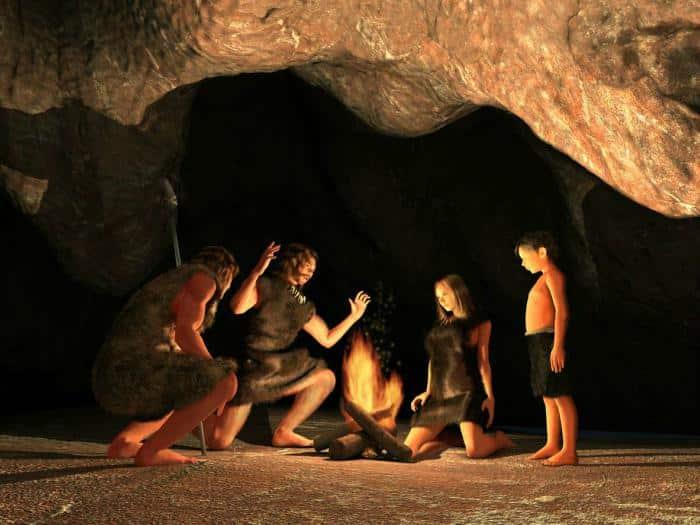 Prehistoria - cocinar huevos revueltos