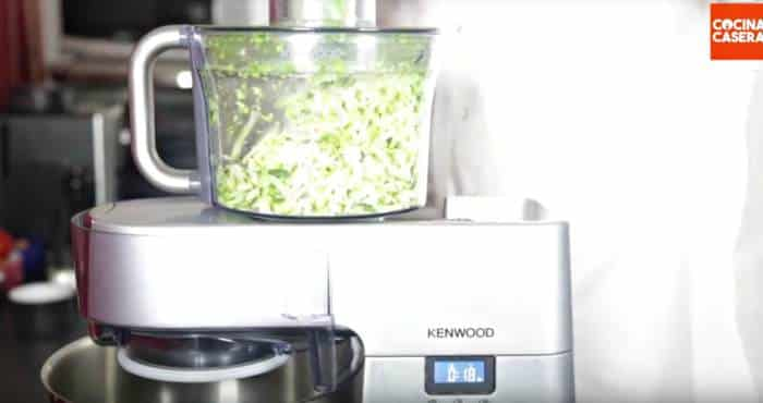 pisto de verduras con Cooking Chef de Kenwood