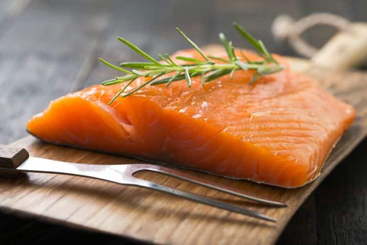 salmón ahumado casero