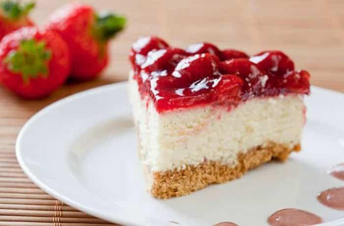 tarta de yogur -Menú para el Día del Padre