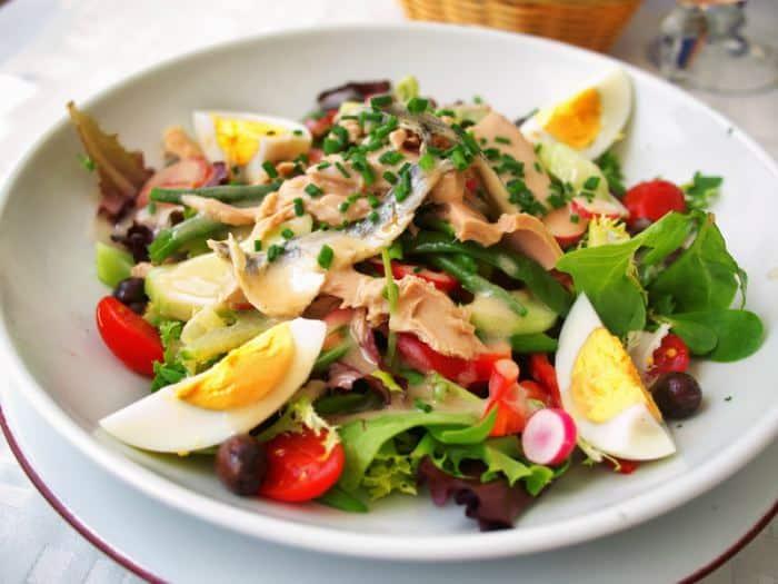 ensalada nicoise - Menú para el Día del Padre