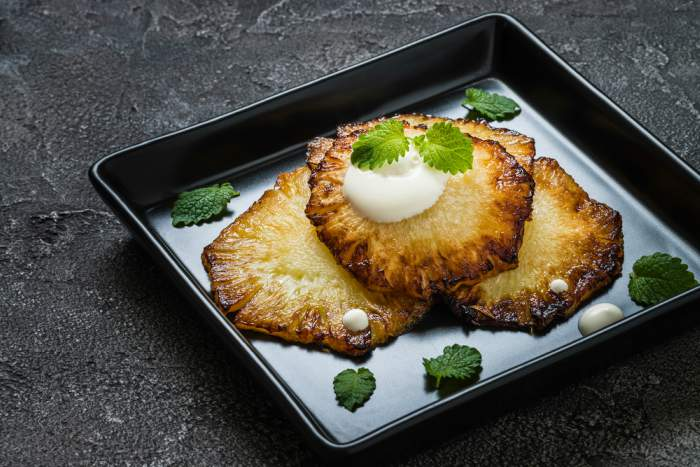 piña frita