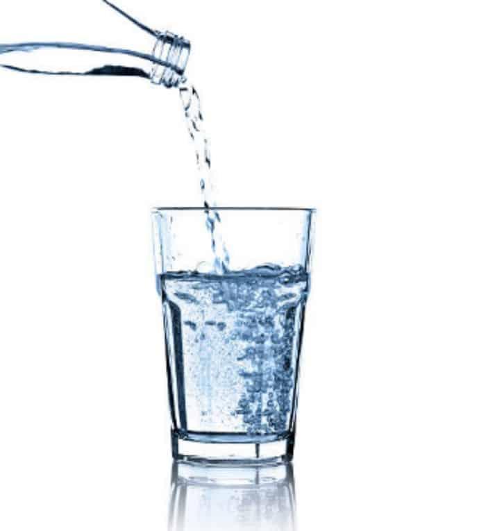 agua -Mayonesa casera