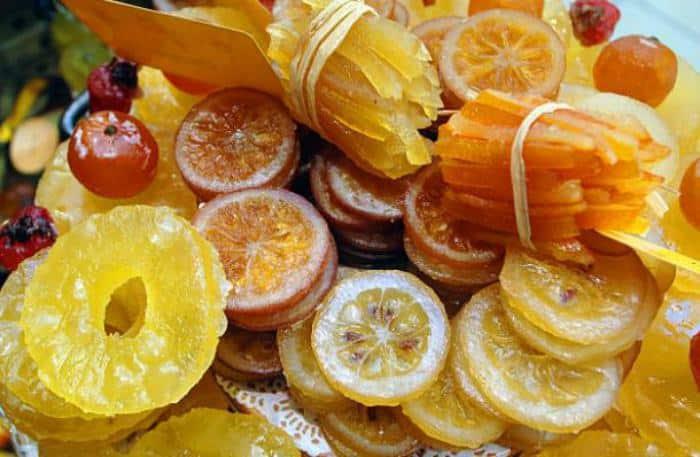 Como confitar fruta en casa