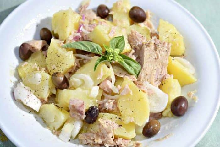 Recetas de ensaladas f ciles - Ensalada alemana de patatas ...