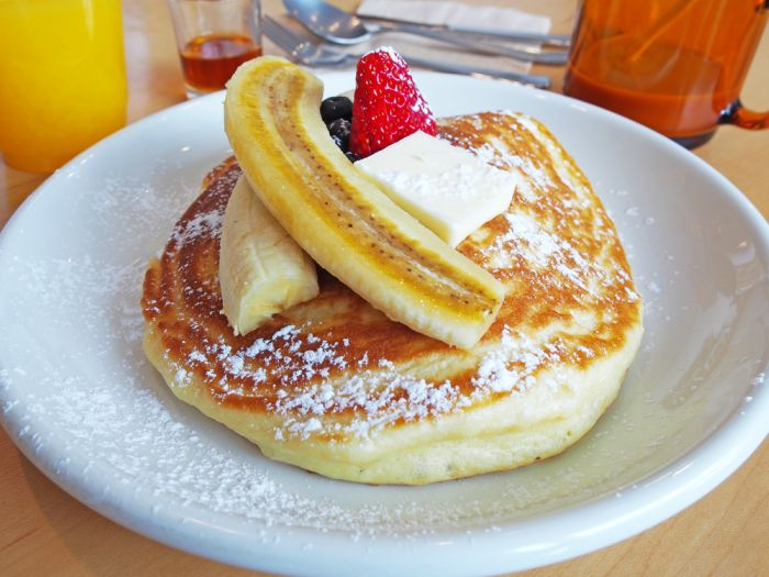 Receta de Hot cakes esponjosos estilo americano o tortitas