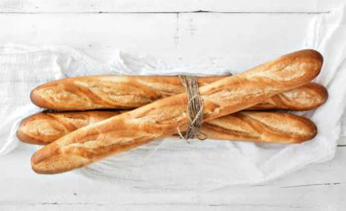 pan francés o baguettes
